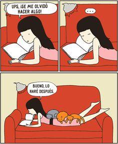 15 cómics que entenderán todos los dueños de gatos. - Taringa!