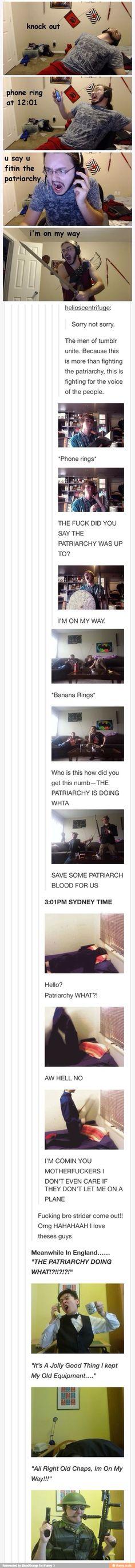 The men of tumblr