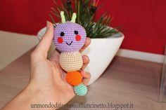 Un Mondo di Fantasie all'Uncinetto di Lisa : Sonaglini per bebè all'uncinetto - Crochet cute baby rattles