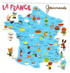 Popular french foods by region
