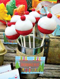 Fishing themed baby shower