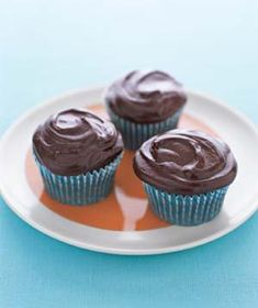 Secret-Ingredient Devil's Food Cupcakes|What's the secret to these rich, moist cupcakes? You'll have to read the recipe to find out. We'll tell you what's in the frosting, though—melted chocolate mixed with sour cream, which creates a tangy, not-too-sweet topping.
