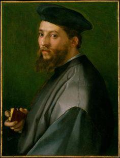 Portrait of a Man - Andrea del Sarto