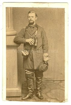 Charles C. Parsons, brave battery commander at Perryville & Stones River.