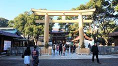 Meiji Shrine. Japan