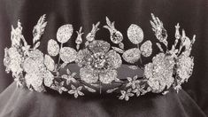 Josephine's Diamond Tiara; Worn At: 2015 Pascua Militar Banquet --- Silver Jubilee of Harald V, King of Norway State Banquet --- Wedding Ball for Luis and Amelie --- 2017 Pascua Militar State Banquet