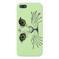 Cat Face Green Eyes Whiskers iPhone 5 Covers http://www.zazzle.com/cat_face_green_eyes_whiskers_iphone_5_covers-256534148809771488?rf=238194283948490074&tc=pfz
