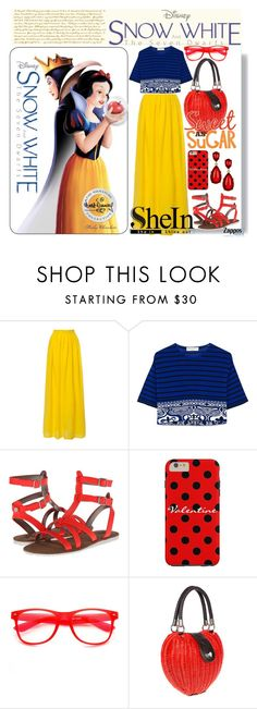 """""""#329 Disney's Snow White and the Seven Dwarfs: 20/01/16 (WGC)"""" by pinky-chocolatte ❤ liked on Polyvore featuring Emilio Pucci, Circus By Sam Edelman, Voodoo Vixen and Kenneth Jay Lane"""