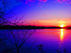 Purple sunset - Sunsets & Nature Background Wallpapers on Desktop ...