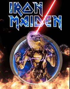 Iron Maiden - Live After Death Iron Maiden Album Covers, Iron Maiden Albums, Iron Maiden Live, Iron Maiden Band, Heavy Metal Art, Heavy Metal Bands, Art Marilyn Manson, Ramones, Skull Art
