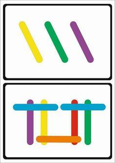 Image gallery – Page 777574691892711537 – Artofit Montessori Activities, Infant Activities, Learning Activities, Activities For Kids, Preschool Printables, Preschool Math, Childhood Education, Kids Education, Visual Perception Activities