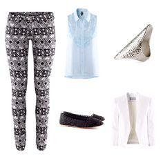 Print trouser