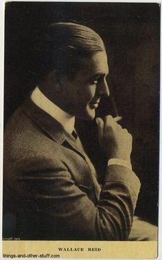 Wallace Reid, 1891 - 1923. 31; actor.