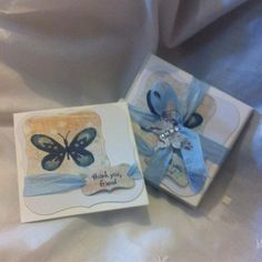 made using Watercolour Wings Stamp Set