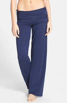 Splendid Foldover French Terry Sweatpants available at #Nordstrom
