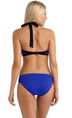 635c02d70fcb3 Block Party 2pcs High Neck Swimsuit Beachwear, Swimwear, Womens Fashion  Stores, Fashion Gallery