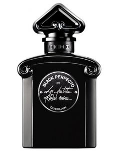 Black Perfecto by La Petite Robe Noire Guerlain for women 2017.Top notes are sour cherry and almond; middle notes are rose and licorice; base note is leather.