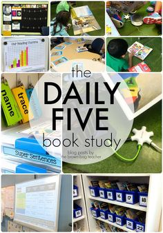 The Brown-Bag Teacher: Daily 5 Book Study: Chapter 1