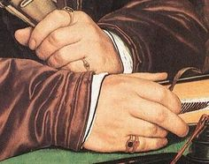Hans Holbein       Detail of Hands