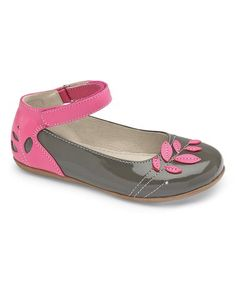 Take a look at this Gray Patent Waverly Leather Flat on zulily today!