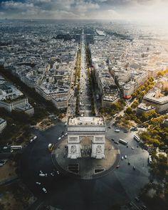 soul-of-an-angel:Arc de Triomphe Cinque Terre, Monuments, Tour Eiffel, Beautiful Places, Beautiful Pictures, Amazing Places, Destinations, Ile Saint Louis, Belle Villa