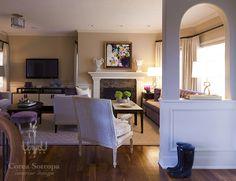 Luxurious living room designed by Corea Sotropa Interior Design