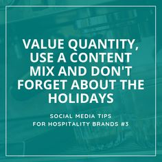 Social Media Tips Tremento for Hospitality Restaurant Advertising, Social Media Tips, Hospitality, Blog, Ideas, Blogging, Thoughts, Social Media