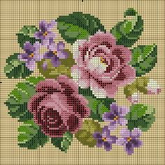 Discover thousands of images about Roses cross stitch. Cross Stitch Rose, Cross Stitch Flowers, Cross Stitch Charts, Cross Stitch Designs, Cross Stitch Patterns, Cross Stitching, Cross Stitch Embroidery, Hand Embroidery, Kitty Play