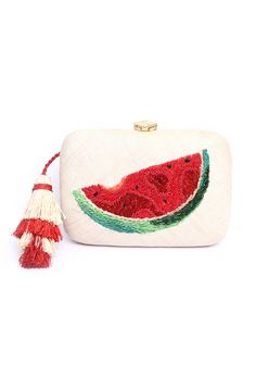 Watermelon clutch bag | ARANAZ | Accessories | Beach Flamingo