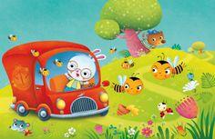 La Vetrina di: Federica Iossa   Creathead Painting For Kids, Art For Kids, Cartoon Boy, Kids Story Books, Baby Art, Children's Book Illustration, Cartoon Drawings, Cute Pictures, Concept Art