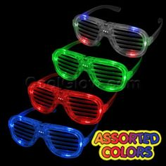 LED and Glow in the dark party supplies!