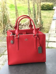 My new COACH -  a beauty in Red, yeah!