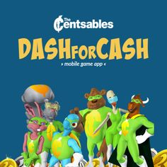 The Centsables Dash For Cash is for children ages 5-10. It combines fun with financial literacy, encouraging players to calculate currency in order to meet increasing goal amounts, while avoiding obstacles in their path. After successfully completing each board, players discover a fun fact about money. Dash For Cash, Free Fun, Game App, Financial Literacy, Mobile Game, Fun Facts, Goal, Meet, Children