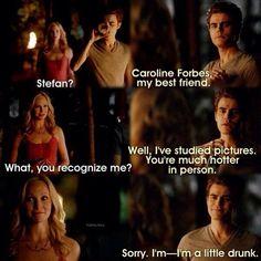 Stefan and Caroline.