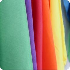 vibrant play silk set of 6 - playsilks at palumba