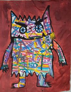 la couleur des émotions (suite) - la maternelle de Camille