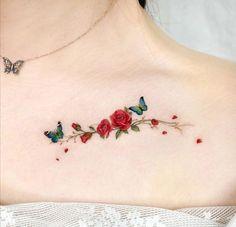 Simple Tattoos For Women, Butterfly Tattoos For Women, Pretty Hand Tattoos, Beautiful Tattoos, Mini Tattoos, Flower Tattoos, Vintage Tattoo Art, Medusa Tattoo, Shoulder Tattoo
