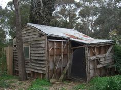 Time to take shelter in this small shed