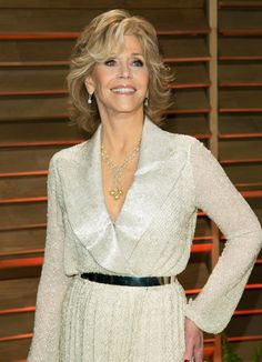 Photo of Jane Fonda - 2014 Vanity Fair Oscar Party - Picture Browse more than pictures of celebrity and movie on AceShowbiz. Jane Fonda, Party Pictures, Vanity Fair Oscar Party, Celebrity Pictures, Cute Hairstyles, Short Hair Styles, Ageing, Celebrities, Technology