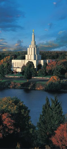 Idaho Falls Idaho Temple. #LDStemple #MormonTemple
