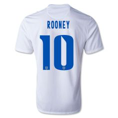 magasin de Maillot Angleterre Coupe du monde 2014 Rooney Domicile