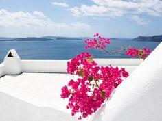 Simple pleasures...Summer colors in Greek islands