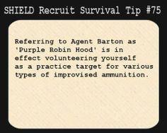 SHIELD Recruit Tip #75