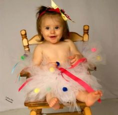 Tutu for Birthday Multi Colored by silverboutiquecrafts on Etsy, $34.00