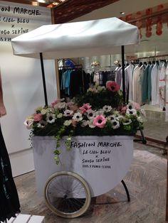 LE  CIEL  BLEU   #flower #shop #works #matilda #中目黒 Matilda, It Works, Flowers, Shop, Wedding, Decor, Blue Skies, Valentines Day Weddings, Decoration