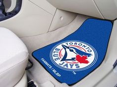 "MLB - Toronto Blue Jays 2-pc Carpet Car Mat Set 17"""" X 27"""""