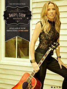 """Sheryl Crow - """"Shotgun"""" single poster"""