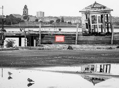 The old landing stage, Pier Head, Liverpool
