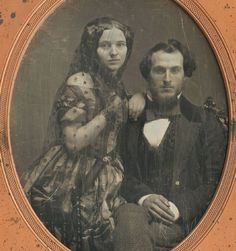 Young couple c. 1850