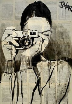"Saatchi Online Artist Loui Jover; Drawing, ""smile"" /explore/art/"